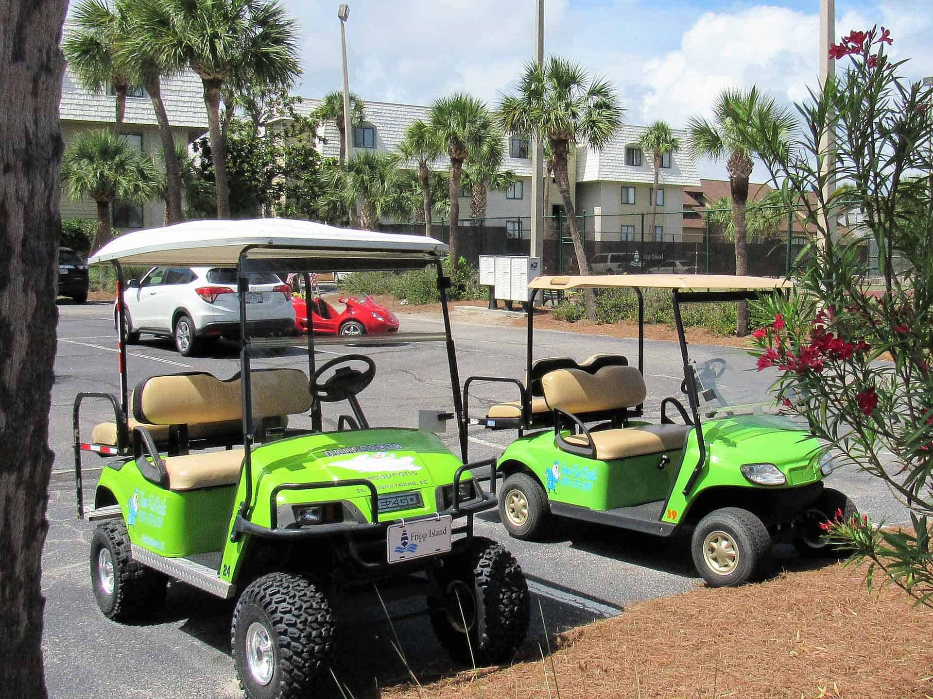 Fripp Island Vacations - We See'um Vacation Home and Golf Cart Rentals